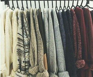 cozy, outfits, and sweaters image