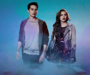 couple, teen wolf, and lydia martin image