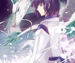 anime, spirited away, and dragon image