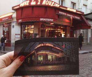 amelie poulain, cafe, and paris image