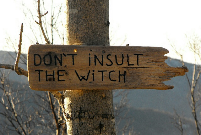 witch, Halloween, and sign image