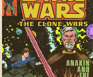 star wars, anakin, and marvel comics image