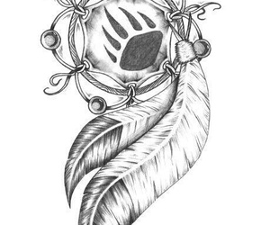 dreamcatcher and tattoo image