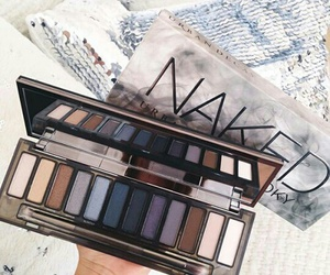 beauty, cosmetics, and makeup palette image