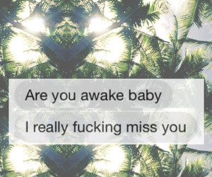 baby, header, and i miss you image