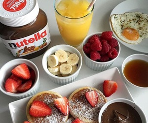 food, nutella, and chocolate image
