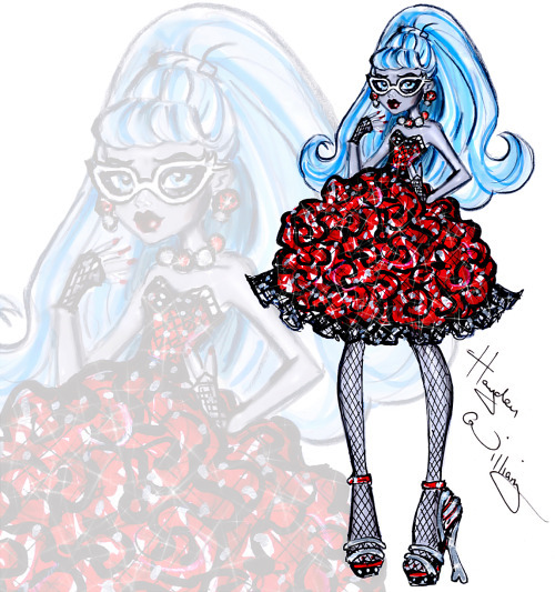 hayden williams, monster high, and ghoulia image