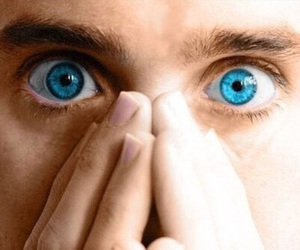 jared leto, eyes, and 30 seconds to mars image