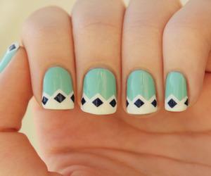 n, nail art, and nails image
