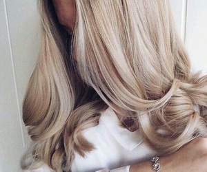 blondie, girl, and blond hairs image
