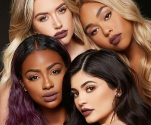 kylie jenner, makeup, and jordyn woods image