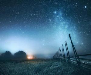 stars, sky, and blue image