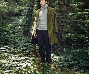 yeo jin goo, forest, and vogue image