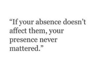 quote, absence, and affect image