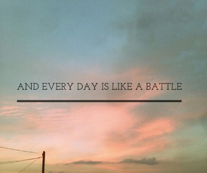 battle, challenge, and life image