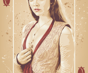 game of thrones, margaery tyrell, and card image