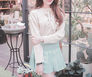 korean, ulzzang, and style image