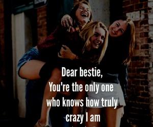 best friends, friendship quotes, and bestie image