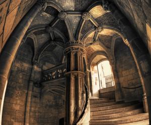castle, architecture, and fantasy image