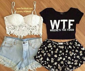 fashion, outfit, and wtf image