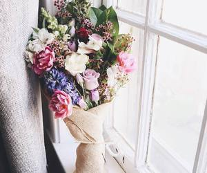 flowers, bouquet, and love image