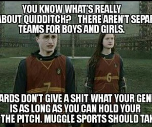 girl and quidditch image