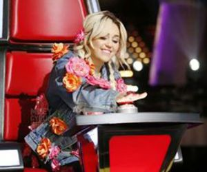 miley cyrus, miley, and the voice image