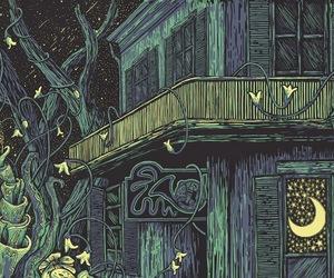 art, house, and illustration image