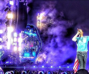 coldplay, concert, and live image