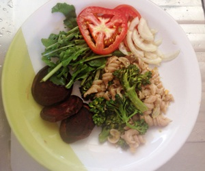 vegetariano, saudável, and refeição image