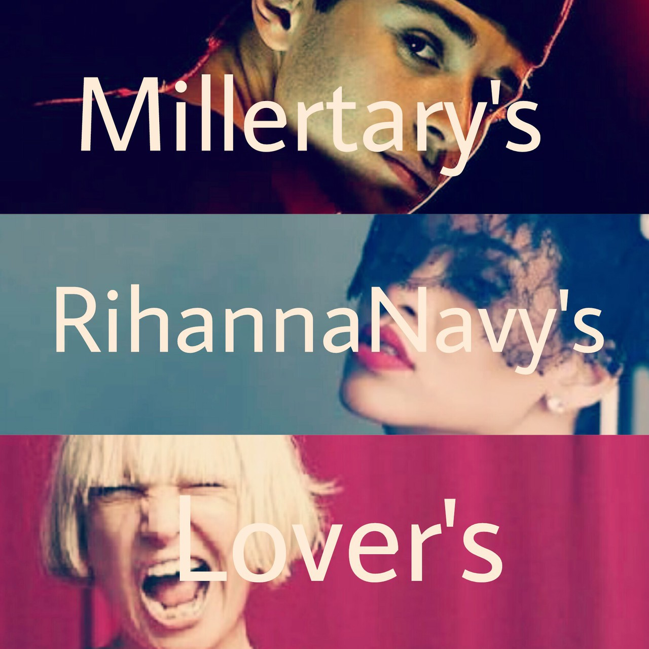 lover, rihanna, and jake miller image