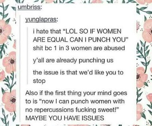 feminism, girls, and quotes image