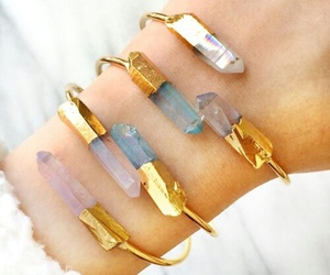 accessories, crystal, and gold image