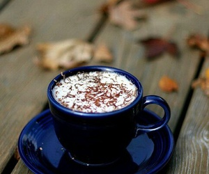 coffee, autumn, and mug image