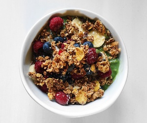 bowl, breakfast, and food image