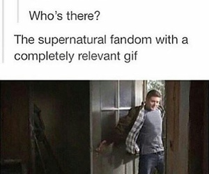 fandom, dean winchester, and supernatural image