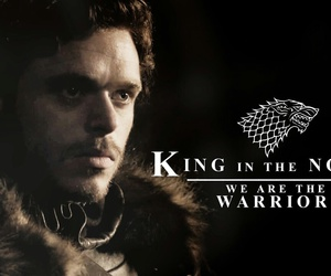 game of thrones and robb stark image