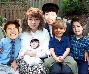 bts, family, and funny image