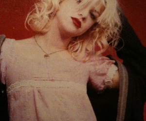 Courtney Love, 1991, and kinderwhore image