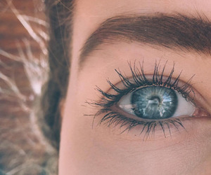 eyes, beauty, and blue image