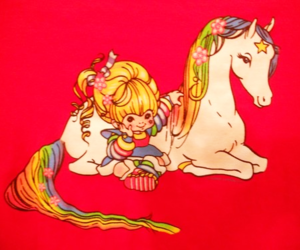 80s, 金髪, and 🐴 image