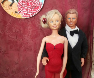 barbie, tango, and couple image