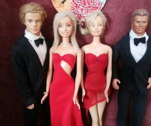 barbie, couple, and fashion image
