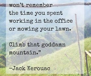 Jack Kerouac and quote image