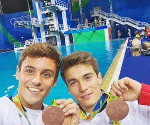 diving, rio, and sports image
