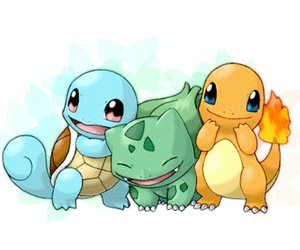 infanzia, ​charmander, and bulbasaur image