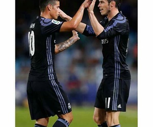real madrid, gareth bale, and james rodriguez image