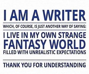 fantasy and writer image