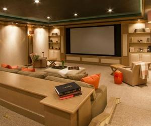 cinema, movie, and decor image