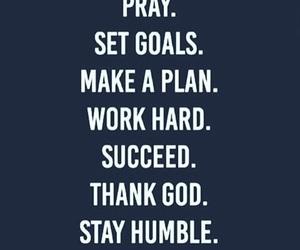 god, humble, and pray image